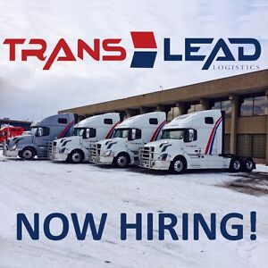 need  Class 1 drivers for Canada/US