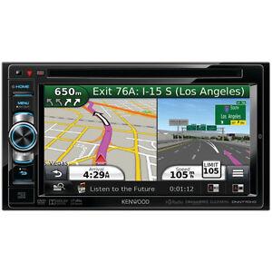 Kenwood Automobile Audio/Video GPS Navigation System DNN770HD