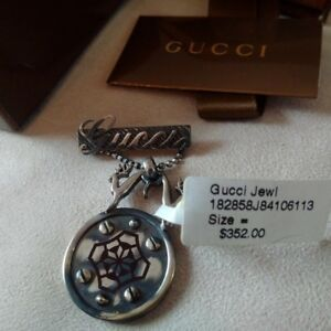 GUCCI Jewel Pin Brooche Brand NEW with Tag NEUF