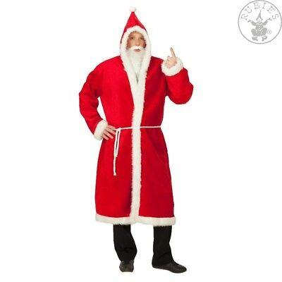 RUB 14226 Kostüm Nikolauskostüm Weihnachtsmann Nikolaus Mantel Plüsch 3 teilig