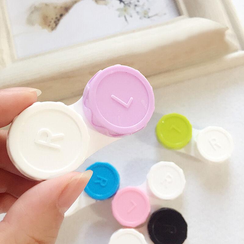 5PCS Plastic Travel Care Contact Lens Holder Storage Box Cases Beauty/