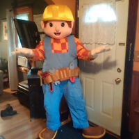 Bob the Builder charachter for hire - Kids parties