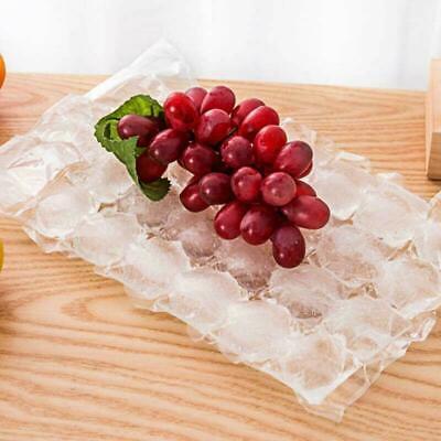 10 Bags 28 Cubes Disposable Freezer Bag Fridge Ice Cube Bags Party Ice Maker