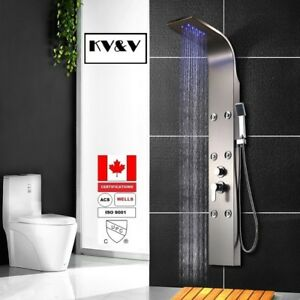 KV&V-Blue rain N-  Shower Panel Tower Column of Superior Quality