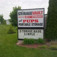 De-clutter and SAVE at Airport Road Self Storage