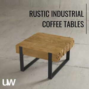 SOLID WOOD COFFEE TABLES – HAND-FINISHED
