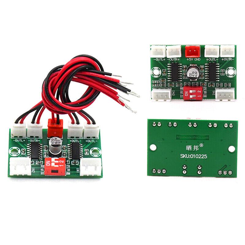 Mini PAM8403 Digital Audio Amplifier Board 4 Channels 3W*4 DC 5V Stereo So Y1