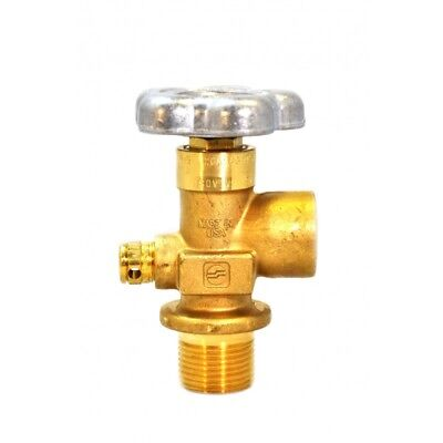 Sherwood Global Valve Heavy Duty Forged Brass Body With Cga 580 3000 Psi