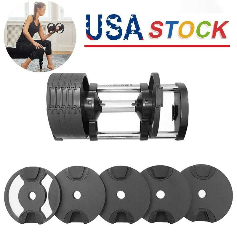 """1PCs 1/"""" Standard 25mm Spring Clamp Collar Clips For Weight Bar Dumbbells Gym TE"""