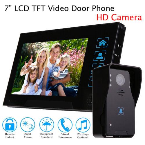 Door Phone For Home Office Doorbell Home Intercom Monitor Visual Camera Security