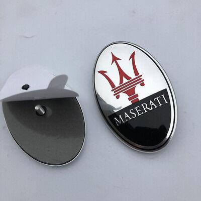 Maserati Quattorporte,GranTurismo,Ghibli,Levante Front Bumper Black Emblem
