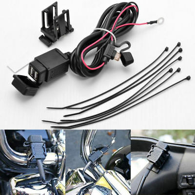 12V/24V BMW MOTORRAD STECKDOSE USB ANSCHLUSS LADEGERÄT WASSERDICHT BORDSTECKDOSE