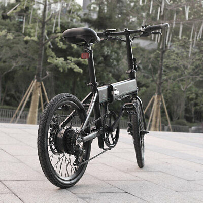 FIIDO D4S Bicicleta eléctrica con ciclomotor plegable Shimano 6 velocidades Camb