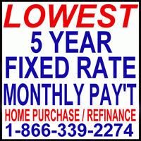 $500,000 HOME LOAN PAY ONLY $1,758 PER MONTH!