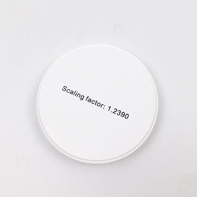 9816mm At Multilayer Dental Zirconia Ceramic Block Zirconia Disc With 16 Shades