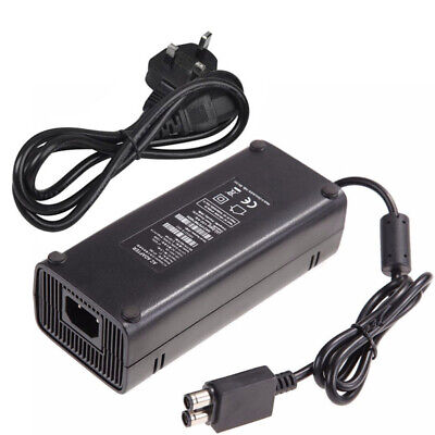UK Plug For Xbox 360 Slim AC Brick Adapter Power Supply 135w Mains Charger Cable for sale  Shipping to Ireland