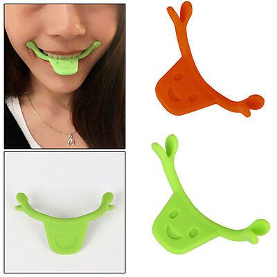 Flex Face Cheek Smile Maker Facial Muscle Exerciser Mouth Slim Exercise Toner