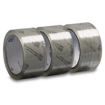 2 Rolls - 2 Inch X 110 Yards 330 Ft Clear Carton Sealing Packing Tape