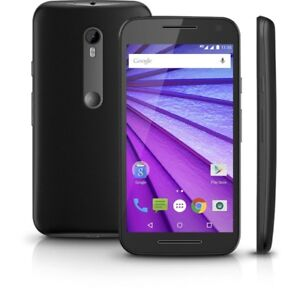 Gently used Moto G3 Android 6 phone for Sale + Otterbox Case