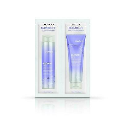 Joico Blonde Life Violet Shampoo & Conditioner sachet 10ml each x 3