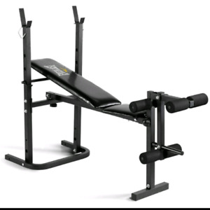 EVERLAST BENCH AND WEIGHT SET