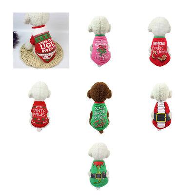 Haustier-Hundekleidung-Weihnachtskostüm-Karikatur-Kleidung Für - Hunde Kostüm Für Weihnachten