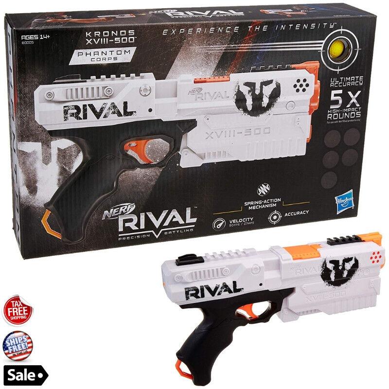Nerf Rival Kronos Outdoor Blaster Toy Gun Foam Soft Bullet D