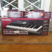 Casio Electronic Keyboard For Sale- Barely Used