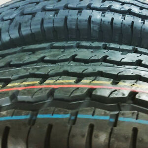 4 NEW 225 75 R15 TRAILER TIRES FOR SALE