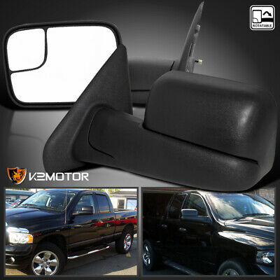MANUAL 02-08 Dodge Ram 1500|03-09 2500 3500 FlipUp TOW Extend Mirrors - Dodge Manual