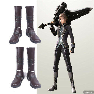 Hand-made Soul Eater  2 Julius Visconti Cosplay Shoes Halloween Boots Any Size ](2 Person Halloween Costumes)