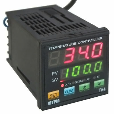 Pid Digital Temperature Controller Dual Display Ssr Tc Kiln Thermocouple Control