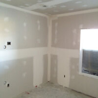 Affordable$$$ sanding mudding Taping and ready for your next sta