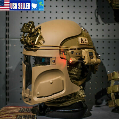 Bounty Hunter Helmet Mask for Ops-Core FAST (mask only) SAND