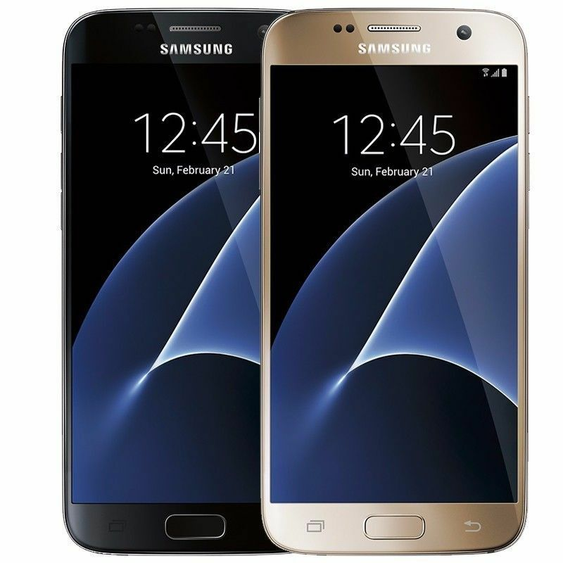 $282.08 - Samsung Galaxy S7 32GB (Verizon / Straight Talk / Unlocked ATT GSM) Black Gold