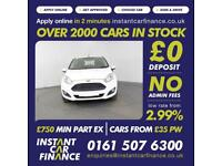 Ford Fiesta Zetec Hatchback 1.0 Manual Petrol LOW RATE FINANCE AVAILABLE