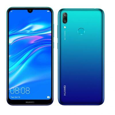 """Telefono Huawei Y7 2019 Smartphone 6.26"""" 3gb/32gb Dual Sim, Aurora Blue"""