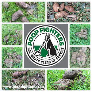 Poop Fighters-- Dog Waste Clean Up Service London Ontario image 2
