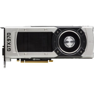 Nvidia GTX 970 4GB Founders Edition graphics card for sale.