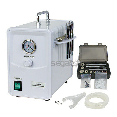 جهاز تقشير الجلد جديد PRO CRYSTAL DIAMOND  MICRODERMABRASION DERMABRASION PEELING MACHINE SKIN CARE