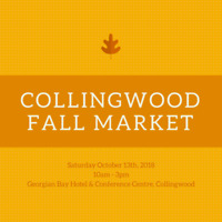 EXHIBITORS WANTED - Collingwood Fall Market