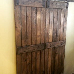 Brand New Rustic Barn Door Sliding Barn Door Hardware Soft Close Oakville / Halton Region Toronto (GTA) image 10