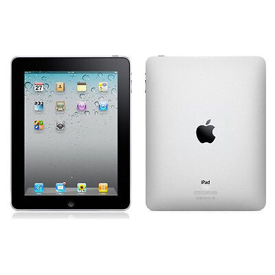 Apple iPad 1st Generation 64GB, Wi-Fi, 9.7in - Black Very Good Condition