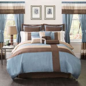 Iman 25pc Bedroom Set - King, New