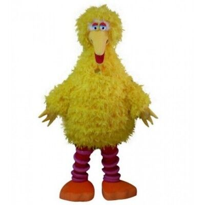 Big Bird Sesame Street Mascot Costume Suit Fancy Dress Halloween Complete Outfit](Big Bird Fancy Dress)