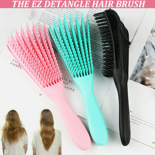 The US Anti-Static Scalp Comb Salon Hair Styling Tools EZ De