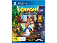 (PS4) crash bandicoot n sane trilogy