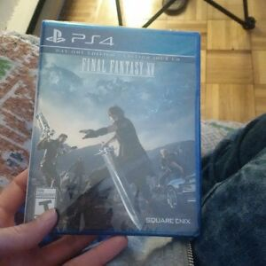 Final Fantasy XV (15) play station 4 game