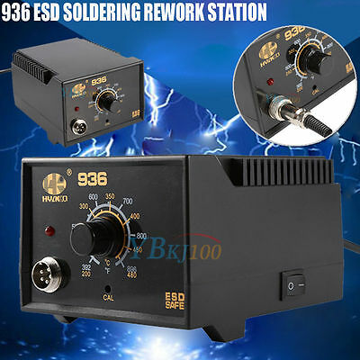 110v 75w 936 Electric Rework Soldering Station Iron Hot Desoldering Smd Welding