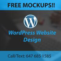 Web Design Toronto - Free Mockups